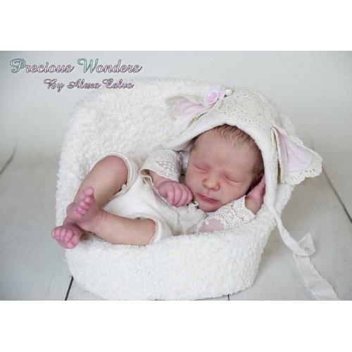 Rebekah sleeping by Realborn®