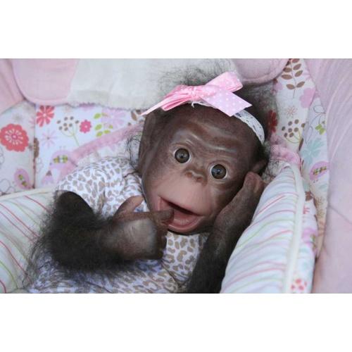 Cici Baby Orangutans by Denise Pratt