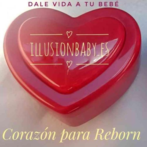 Corazón para bebe Reborn