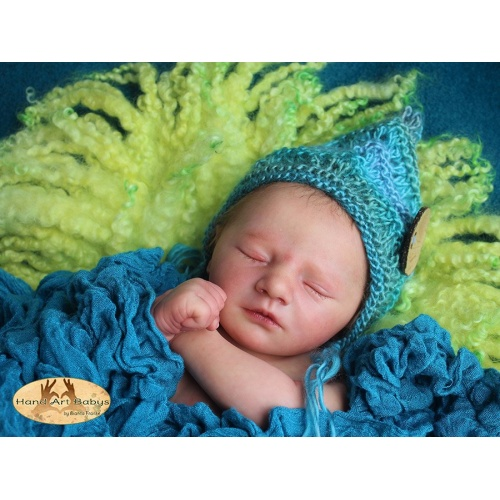 Jaxson Sleeping by Realborn®