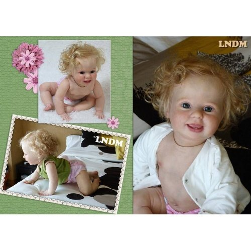 "Kit Amelia by Donna Rubert  de 10 meses (25 "") con medio..."