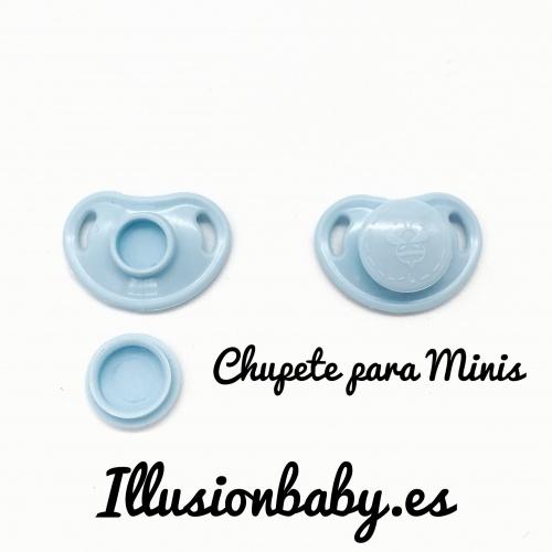 Chupete imantado para mini azul