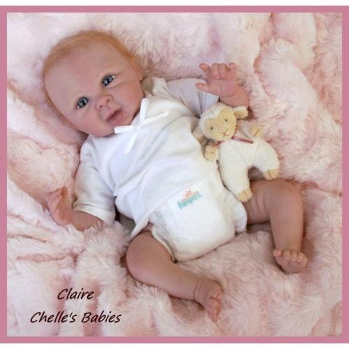 """Claire Mini Bebé de 10"""" De Denise Pratt"""
