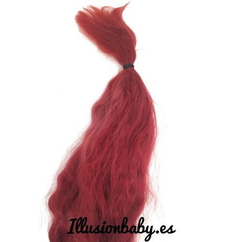 Mohair de Angora Rojo Premium