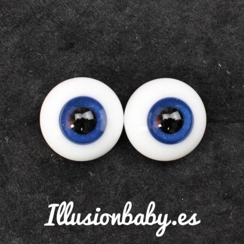 """Olhos azuis 18 """"bola de cristal"""