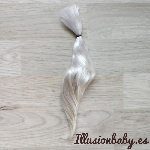 Premium White Angora Mohair