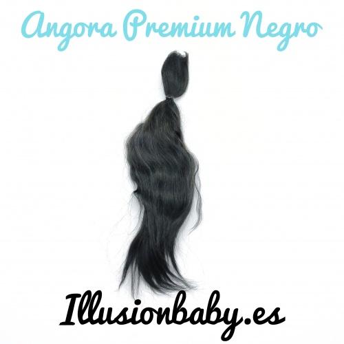 Mohair de Angora Negro Premium
