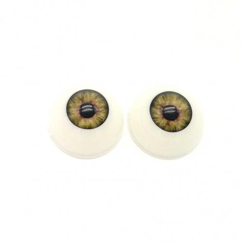 Ojos acrílicos 24mm premium verdes