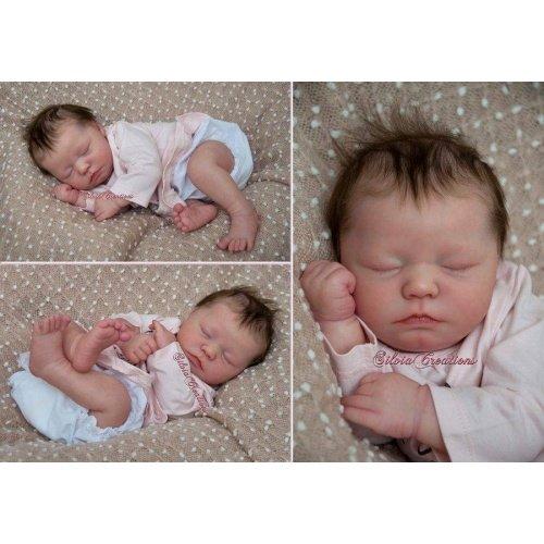 Zuri Sleeping by Realborn®