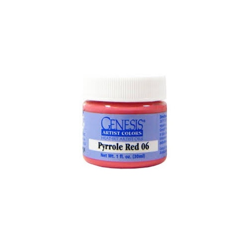 Genesis Pyrrole Red 06 30ml Artists Colors Original