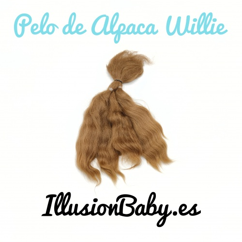 High quality Alpaca Willie Reborn hair