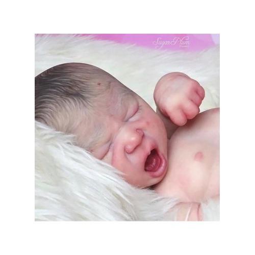 Leilani Yawning by Realborn®
