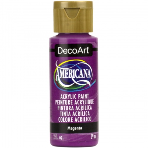 Magenta Acrylic Matte Finish by DecoArt Americana 59ML