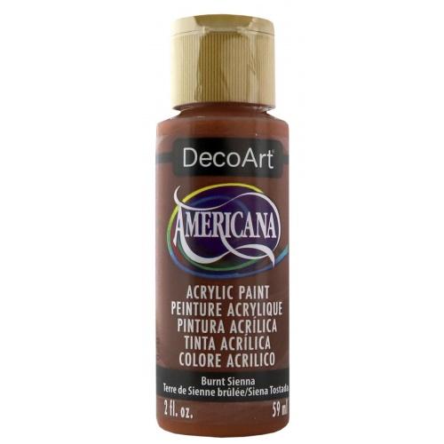 DecoArt Americana 59ML Matte Burnt Sienna Acrílico
