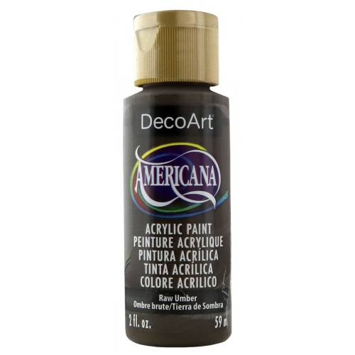 Raw Umber Acrylic Matte Finish by DecoArt Americana 59ML