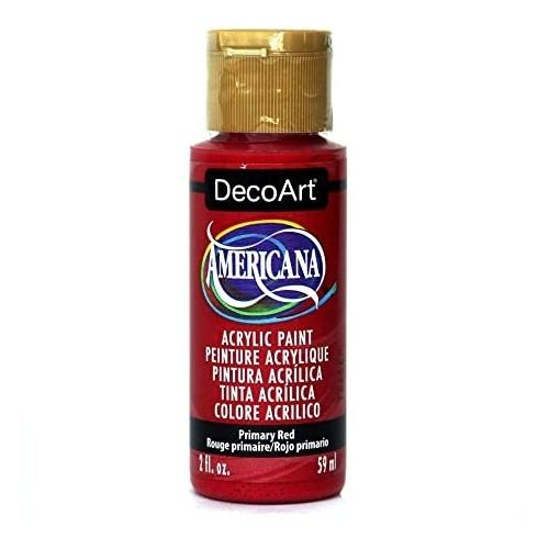 DecoArt Americana 59ML Matte Primary Red Acrílico
