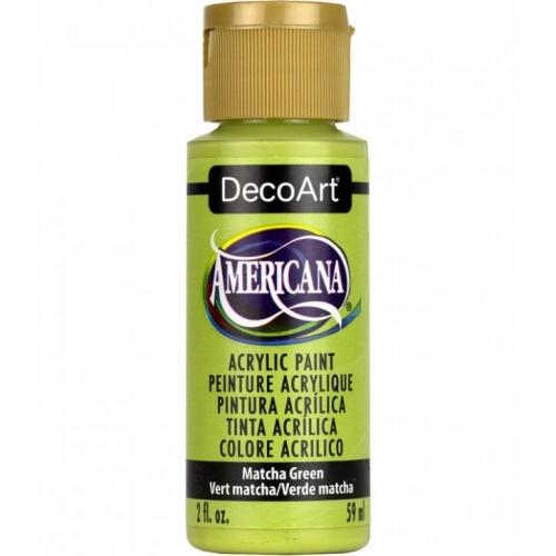 DecoArt Americana 59ML Matte Matcha Green Acrílico