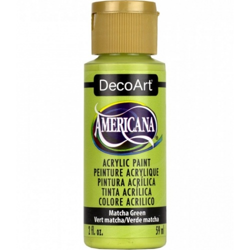 Matcha Green Acrylic Matte Finish by DecoArt Americana 59ML
