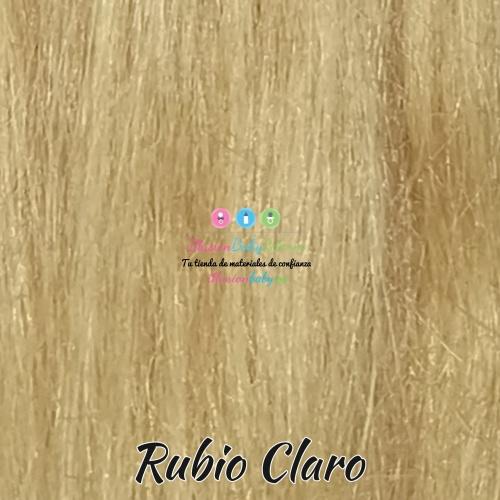 Light blonde natural hair