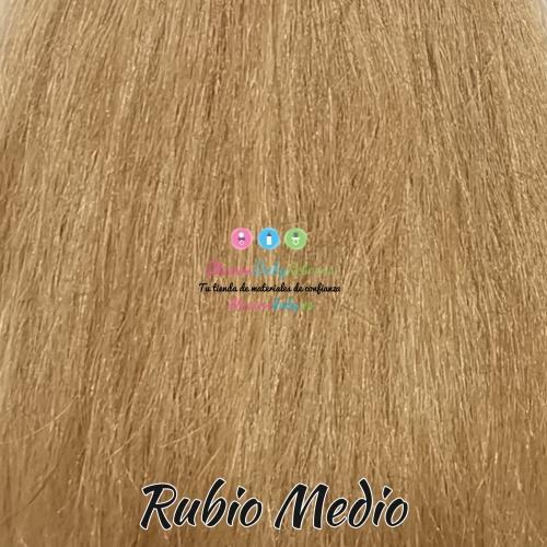 Medium blonde natural hair