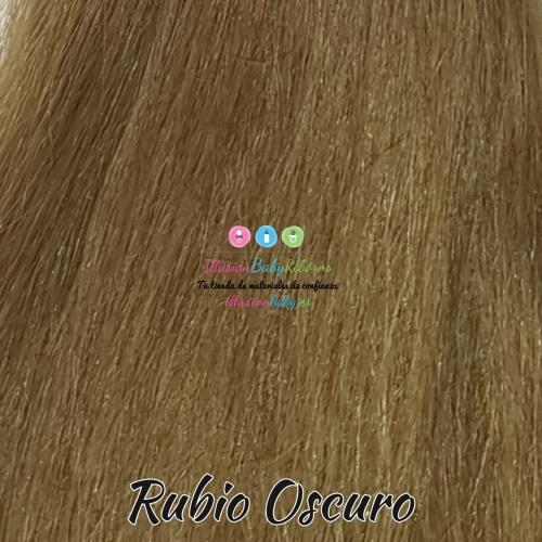 Dark blonde natural hair
