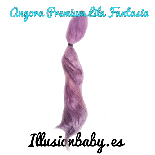 Angora Mohair Color Lilac Fantasy Premium