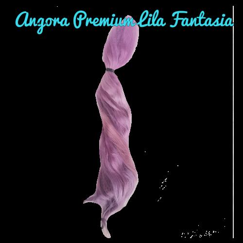 Mohair de Angora Color Lila Fantasía Premium