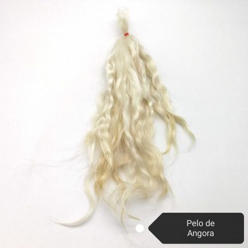Mohair Blanco de Angora para Reborn