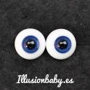 Ojos de cristal de bola entera