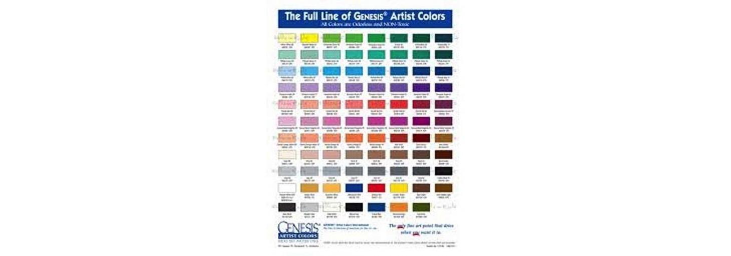 Genesis paintings