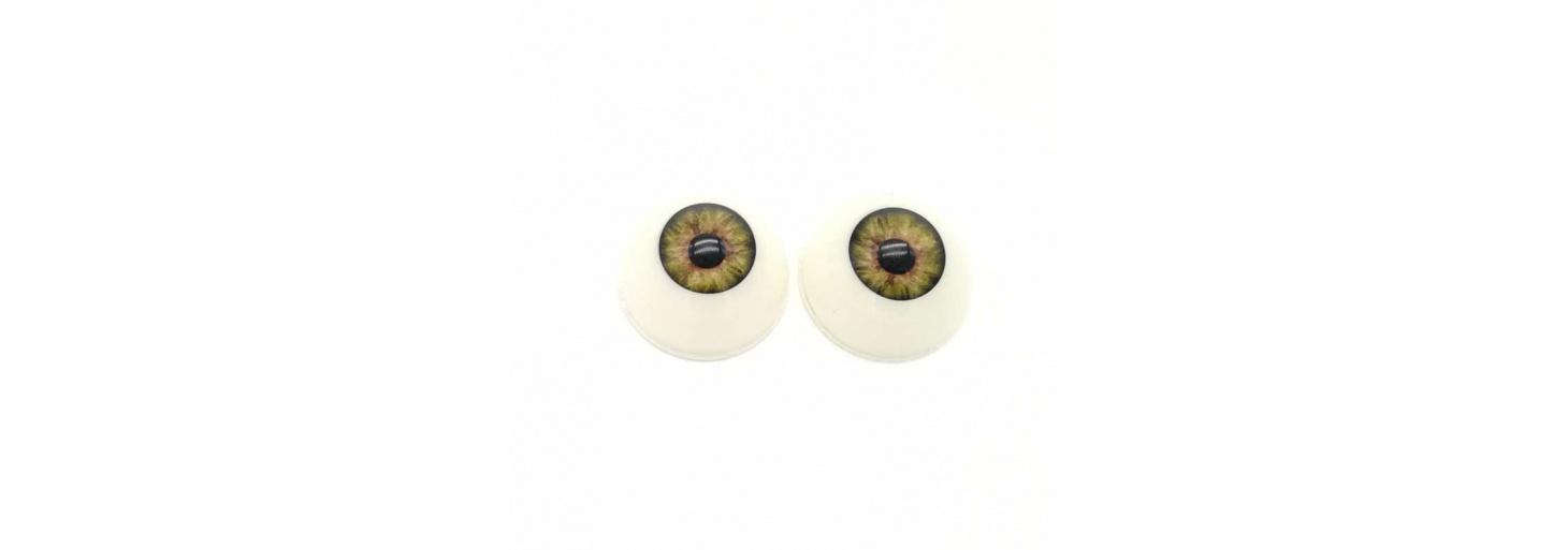 Ojos acrílicos